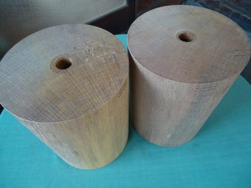 樫材特殊加工