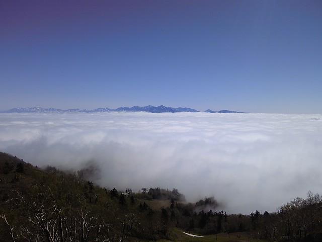富良野盆地の雲海