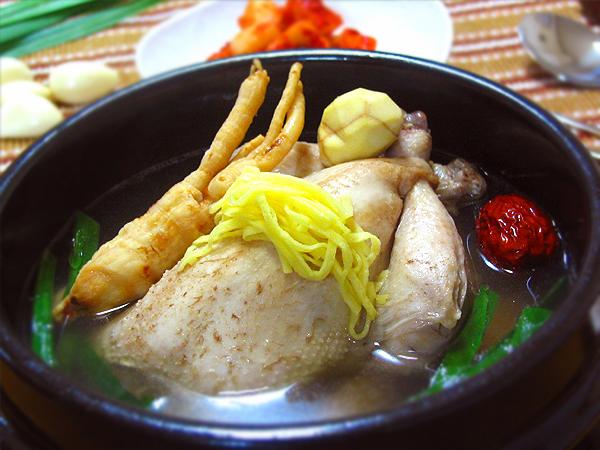 サムゲタン 参鶏湯