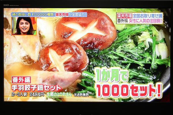 ヒルナンデス 手羽餃子鍋セット