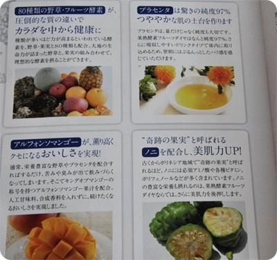 400果熟酵素フルーツダイヤ箱パンフフルーツ写真.JPG