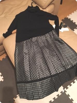 500黒白スカートとカットソー合わせ.JPG