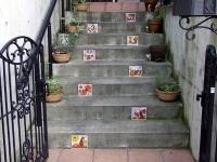 スペインタイル・外装〜階段〜