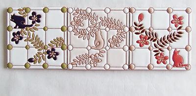 屋内外の装飾タイル屋さん・いろといろ工房/装飾タイル・猫