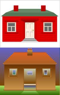CSS House
