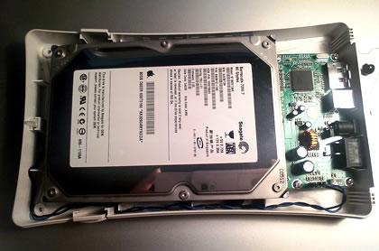 1分BOX SATA(HDD設置)