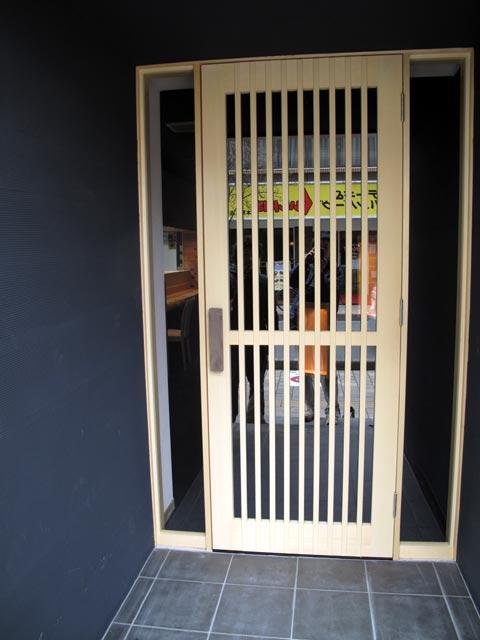 飲食店玄関1