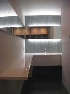 洗面カウンター2