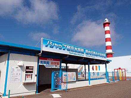 ノシャップ寒流水族館と灯台