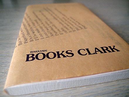 クラーク書店のブックカバー