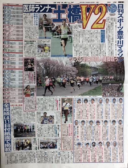 日刊スポーツの紙面