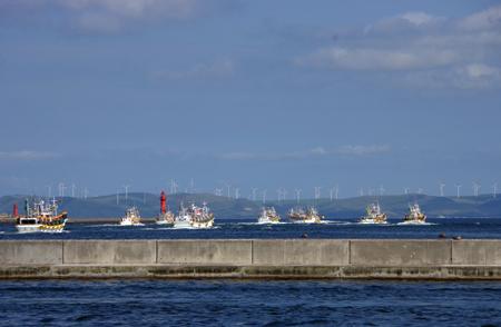 たくさんの漁船