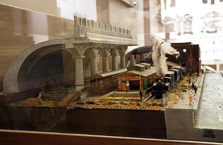 稚内桟橋駅模型