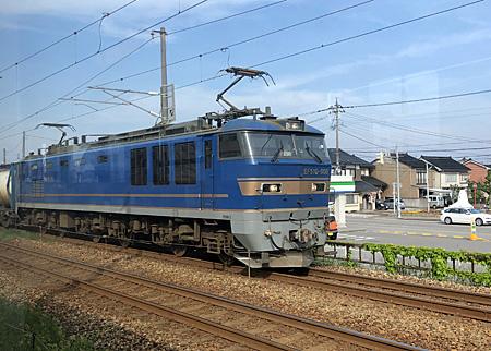 北斗星色の電気機関車