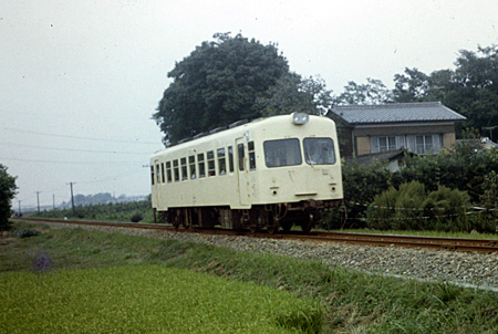 熊谷線の列車