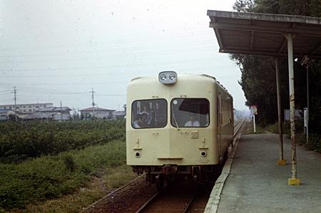 停車中の列車