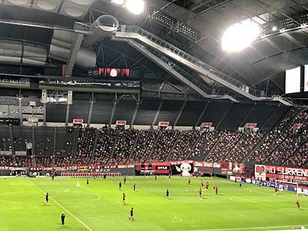 スタジアム内の風景