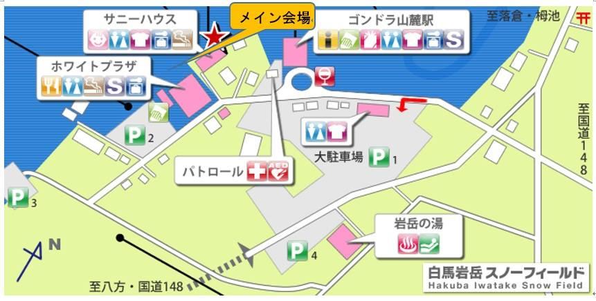 SSJ会場地図