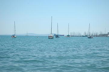 アドリア海の島の夏