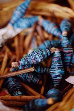 織物用の糸