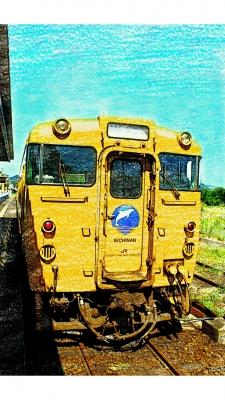 日南線色のキハ40系