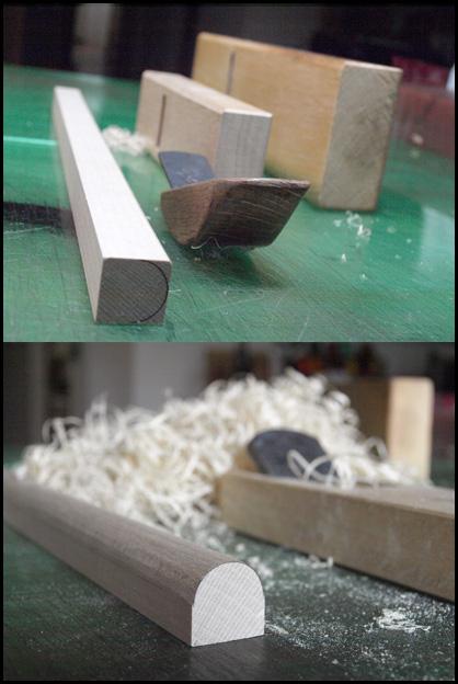 万年筆ケース用絞り型制作1