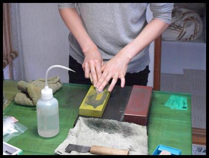 包丁の研ぎ
