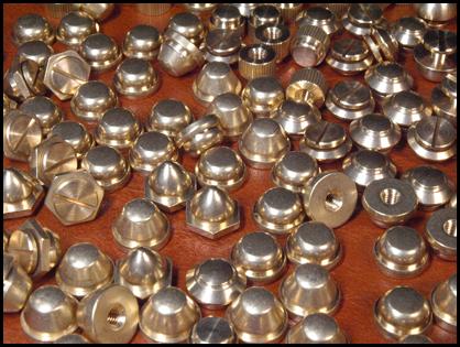 真鍮の挽きものたち