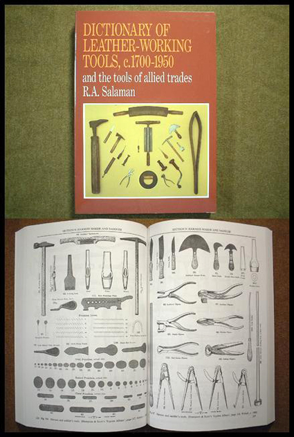DICTIONARY OF LEATHER-WORKING TOOLS, c.1700-1950