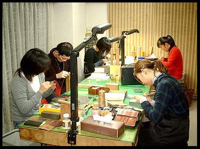 手縫い鞄教室