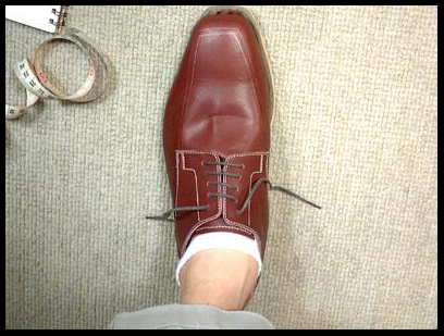 オーダー靴の続き