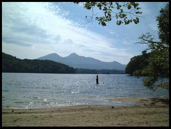 小野川湖畔