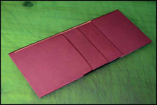 カードポケット付き見返し制作2.3
