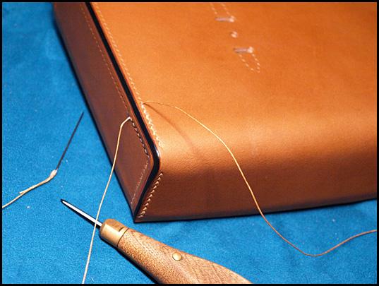かぶせ側横襠縫い合わせ01