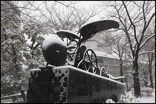 大雪警報01
