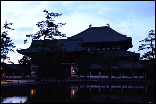 奈良の夕暮れ01