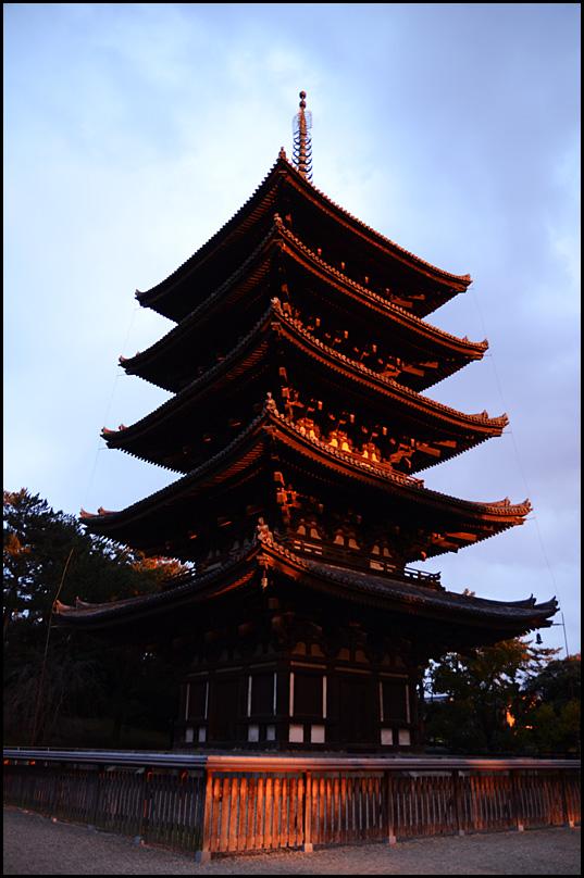 奈良の夕暮れ04