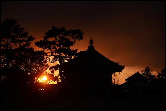 奈良の夕暮れ05