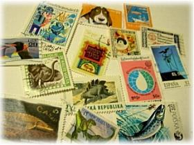 使用済海外切手