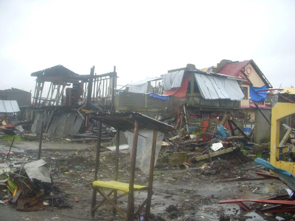 Tacloban disaster area