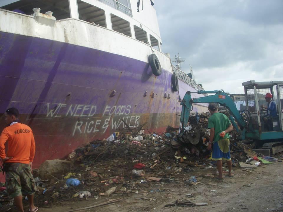 Tacloban disaster area2