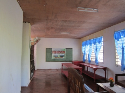 Cabugao school inside