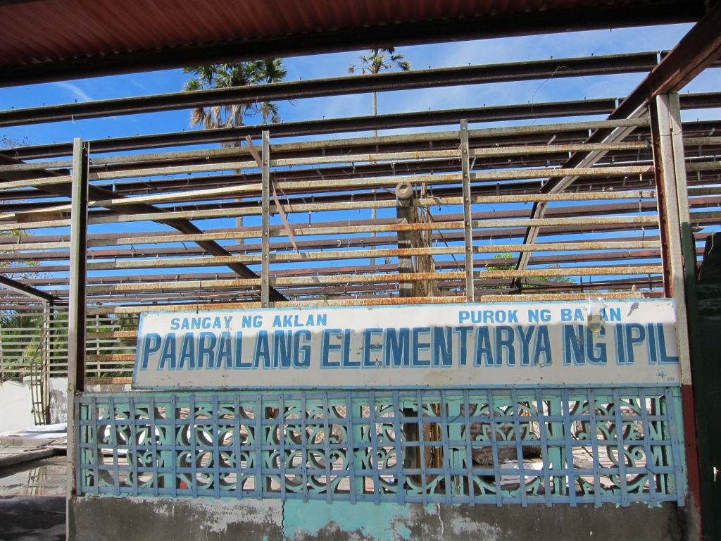 Ipil destroyed school