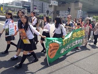 関西児童労働ウォーク