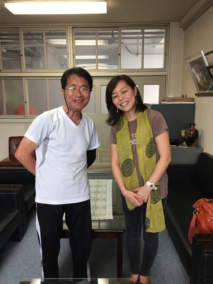 山本先生と中島