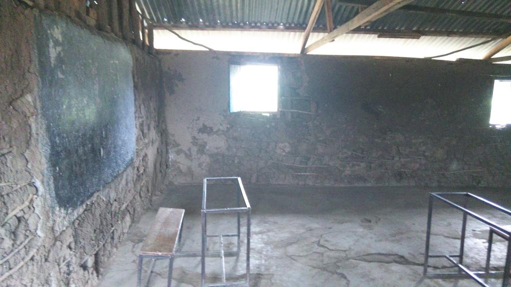 ケニア 古い教室