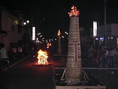 富士吉田の火祭り