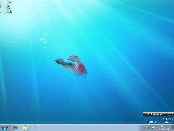 Windows7 デスクトップ