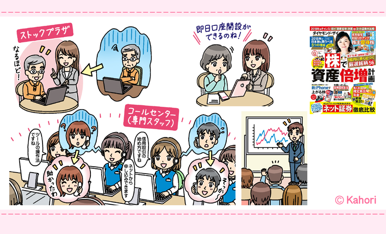 雑誌『ダイヤモンドZAI(ザイ)』12月号イラスト