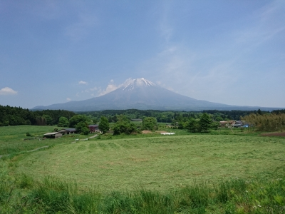 とある場所からの富士山